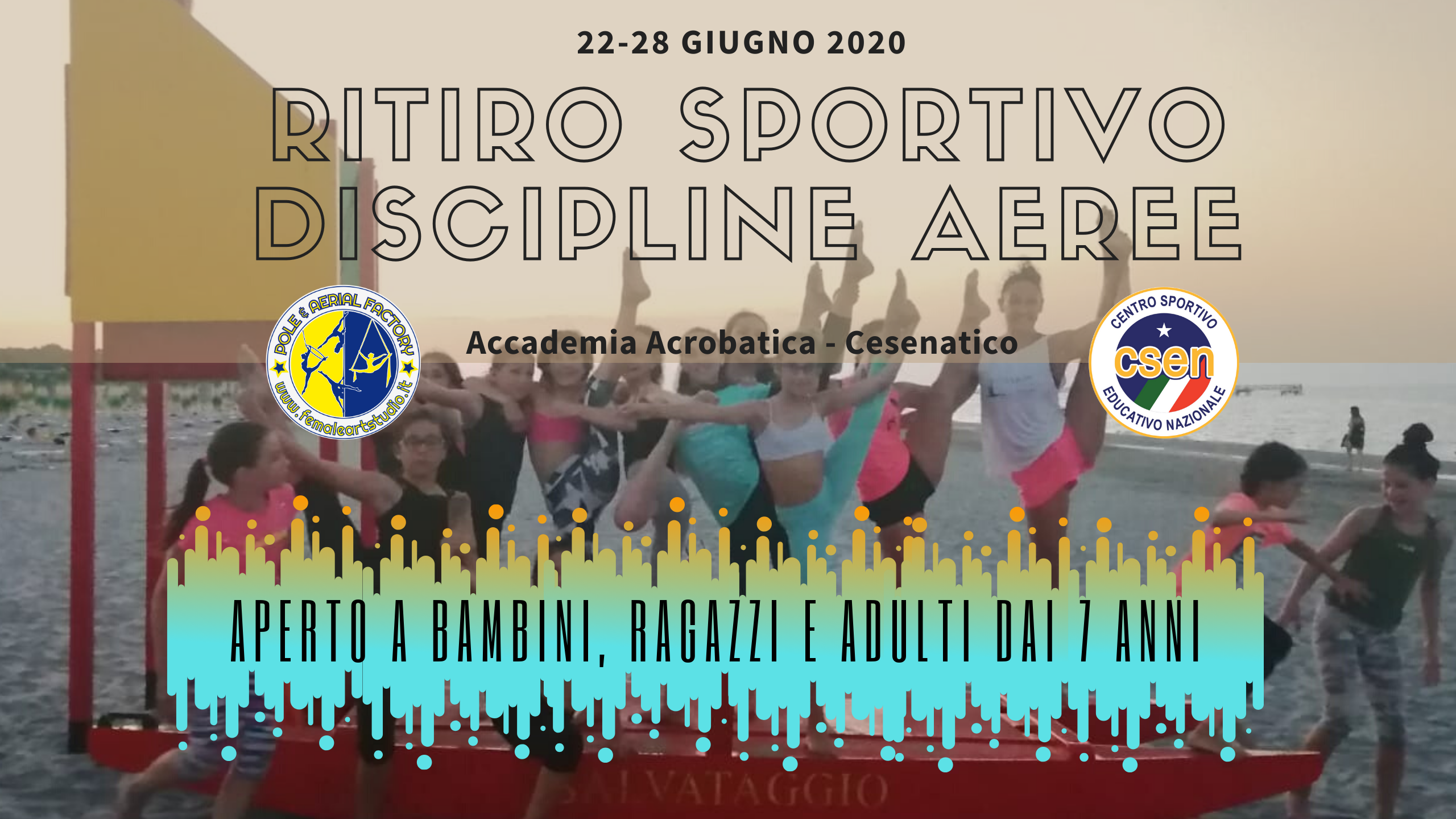 Ritiro Sportivo Discipline Aeree