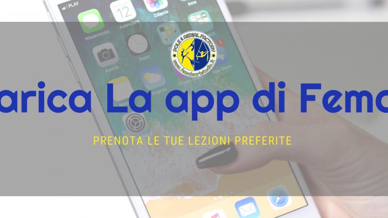 Prenotazioni tramite app
